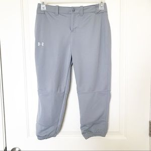 UNDER ARMOUR • Fitted 3/4 Length Fastpitch Pants
